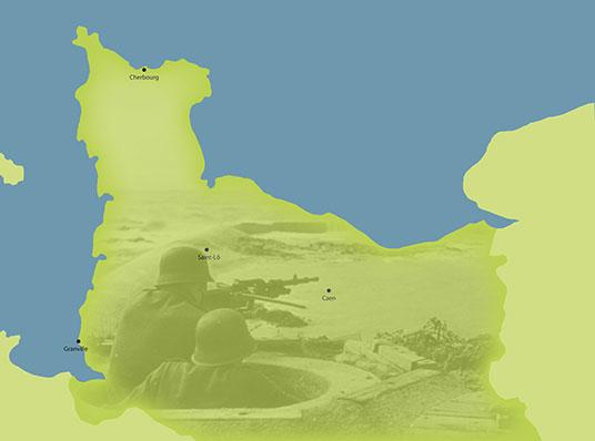 Spor Fra Anden Verdenskrig I Normandiet