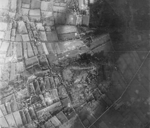 V1 Flying Bomb Site Mesnil-Au-Val